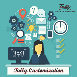 Tally ERP Customization, 1000+ Tally ERP 18 Customised solution